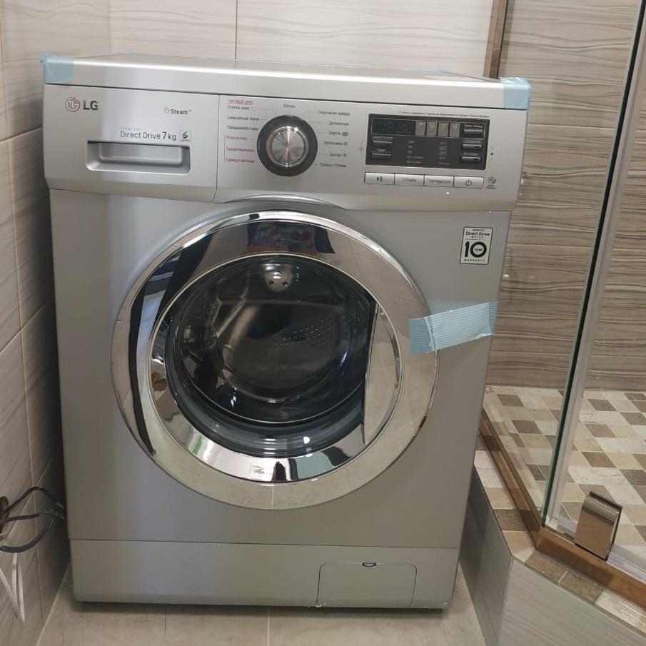 Ставим стиральную машину